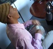 Mohamed El Sayed en «Los Sonidos del Planeta Azul» UPV Radio./ (Paco Valiente)