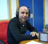 """Jesús Salvado """"Chapi"""" en «Los Sonidos del Planeta Azul""""./ (Paco Valiente)"""