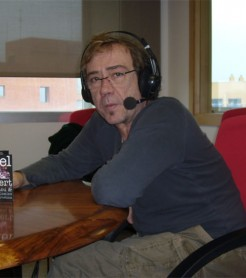 Miquel Gil en «Los Sonidos del Planeta Azul» UPV Radio./ (Paco Valiente)