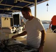 DJ Paco Valiente durante una de las sesiones/travesias en 2006./ (Archivo LSPA)
