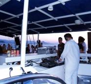 """DJ Paco Valiente en el Catamarán """"Chill Out"""" 2008, Música al Castell Dénia"""