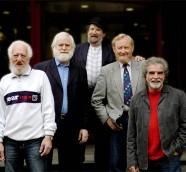 La mítica bana irlandesa The Dublilners, en 2005