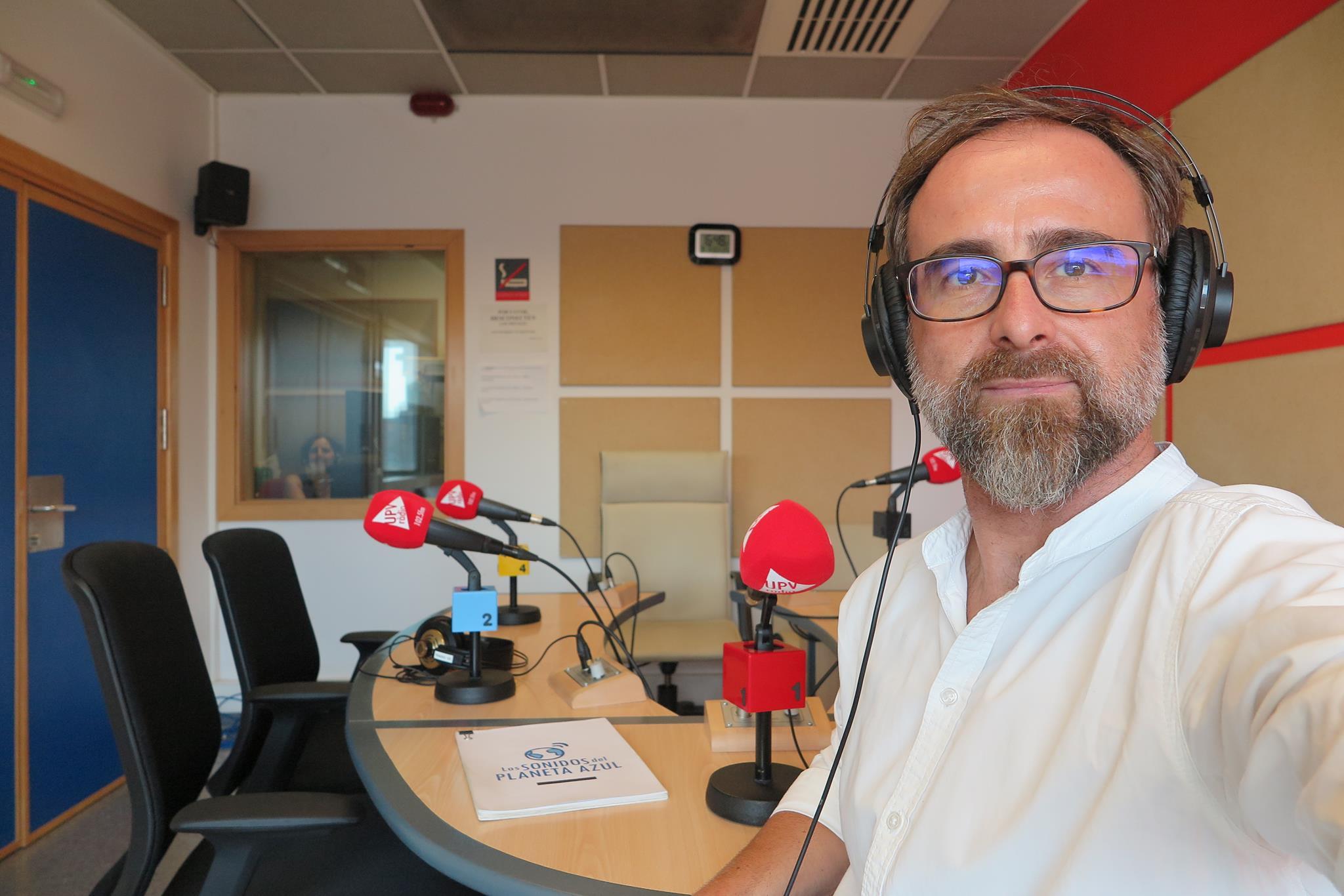 En el inicio de la Temporada 2018-19 en UPV Ràdio, València. 4 de septiembre de 2018./ (P. V.)