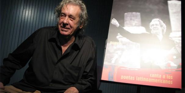 Paco Ibañez en la presentación del nuevo disco./ (Paco Valiente)