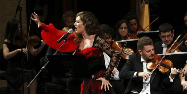 Orquesta Manuel de Falla y Estrella Morente./(Paco Manzano)