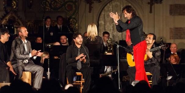 Oscar de Manuel en el Festival Internacional de Cante de las Minas el pasado año./(Laurent Lamacz)