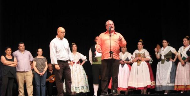 Homenaje a Josep Aparicio Apa en Godella el 7 de junio de 2013./ (Paco Valiente)