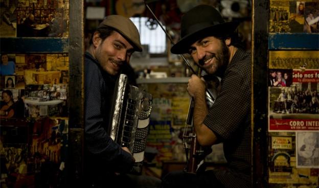 El dúo Fetén Féten, Diego Galaz y Jorge Arribas./ (David Palacín)