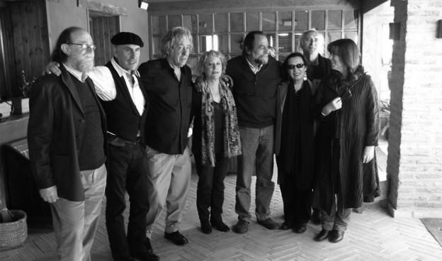 Reunión de cantautores en Urueña, abril 2011./ (Paco Valiente)