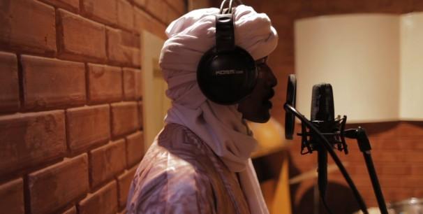 Sesión de grabación en los Studios Bogolan, Bamako./ (Sahel Calling Project)