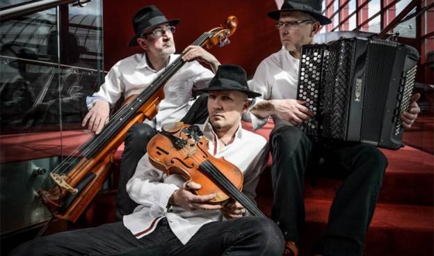 El trío polaco de música klezmer Kroke