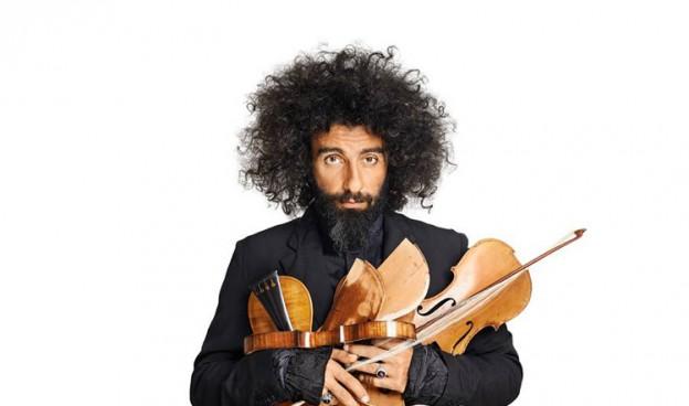 El violinista libanés, de origen armenio, Ara Malikian celebra sus quince años en España