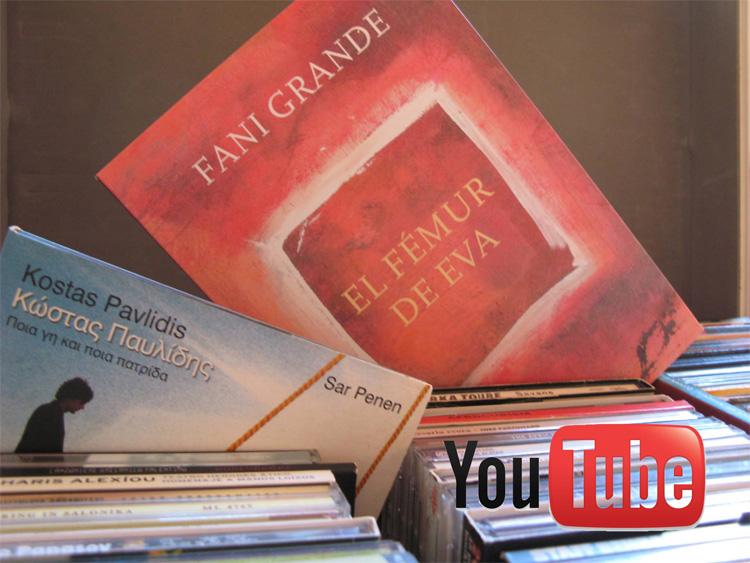 Lista de reproducción en YouTube de #LaVueltaAlFémurEn80Músicas