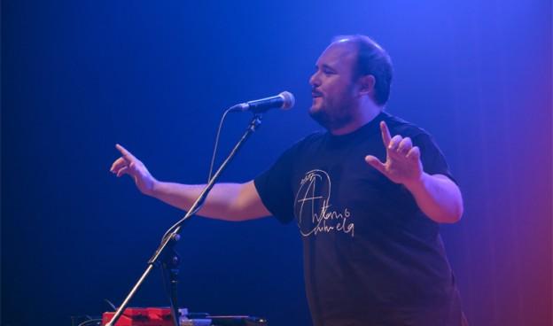 Niño de Elche en concierto, Mercat de Música Viva de Vic 2015./ (Paco Valiente)