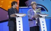 Alejandra Fierro, directora de Radio Gladys Palmera,  recoge el Premio Ondas Mejor Radio en Internet