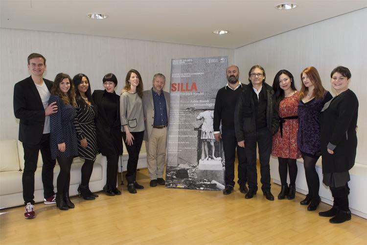 Reparto y dirección de 'Silla' en Les Arts