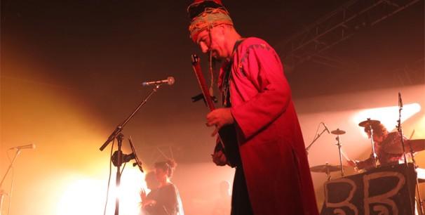 El grupo turco BaBa Zula en el escenario principal de Babel Med Music, Marsella./ (Paco Valiente)