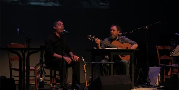 Miquel Gil i Botifarra, 'Nus' en el Teatre Principal de Valencia el 8 de enero de 2016./ (Paco Valiente)