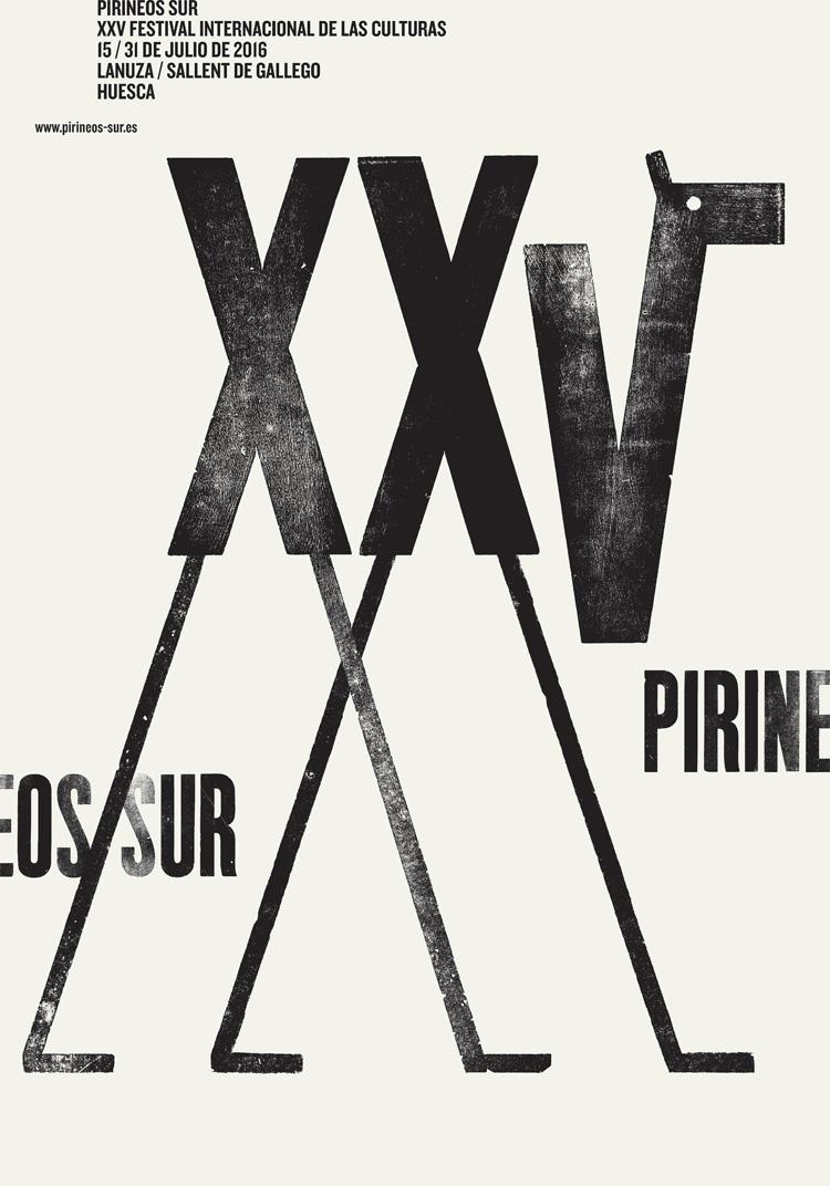 PirineosSur_CartelXXV_IsidroFerrer