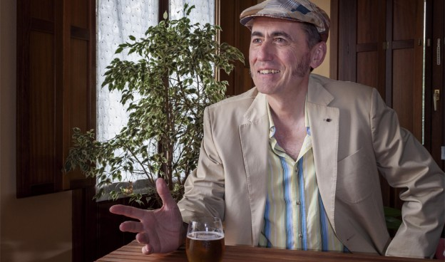 El cantautor vasco Jabier Muguruza