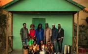 El grupo haitiano Lakou Mizik./ (Thomas Freteur)