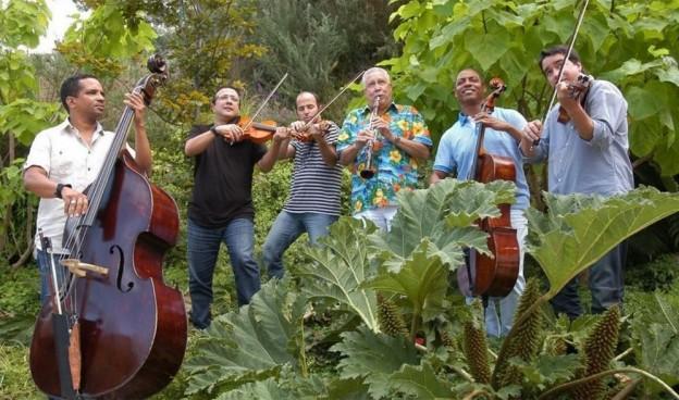 El clarinetista y saxofonista cubano Paquito D´Rivera y el Quinteto Cimarrón