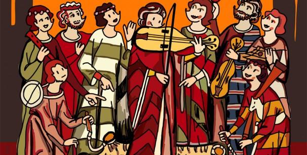 Mariscal ha diseñado el cartel para la 25 edición del festival oscense de música antigua