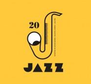 Cartel de la XX edición del Festival de Jazz de Valencia, obra del diseñador Dani Nebot