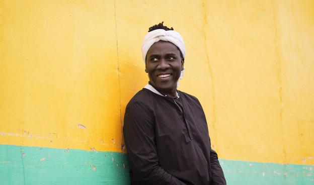 El cantante, bajista y guitarrista camerunés Richard Bona