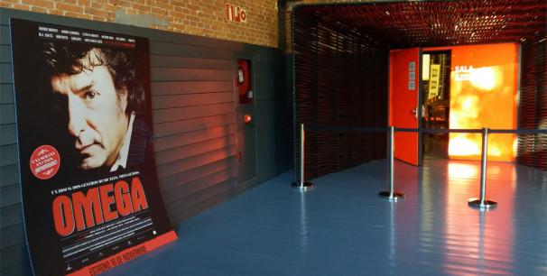 Sala de la Cineteca de El Matadero, Madrid, ayer antes del pase para medios./ (Paco Valiente)