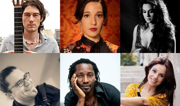 Algunos de los artistas que han pasado por el programa en 2016