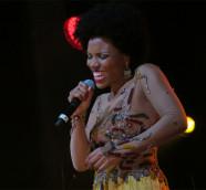 La cantante de Cabo Verde Lura en Babel Med Music 2017./ (Paco Valiente)