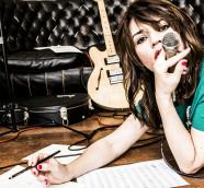 La cantante italiana Carmen Consoli