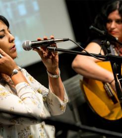 """Mujeres Mediterráneas en la clausura de """"Vivir en la Música"""", en Granada./ (Javier Martín)"""