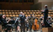 Paquito D´Rivera con la Orquesta de València y Quinteto de Jazz en el concierto inaugurall./ (E. Ripoll)