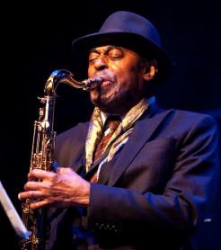 El saxofonista Archie Shepp