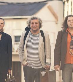 El trío instrumental Volando Libre