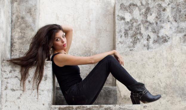 """""""Tendrá que haber un camino"""" es el disco de debut de Soleá Morente./ (Celine Beslu)"""