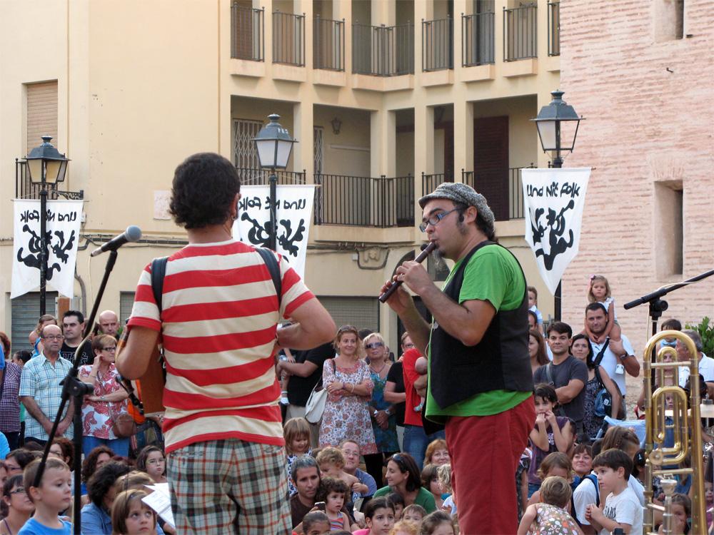Dani Miquel en la Nit Folketa de 2012./ (P. V.)