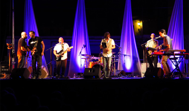 Funkdación durante su actuación en el Festival de Busquístar, Granada./ (Paco Valiente)