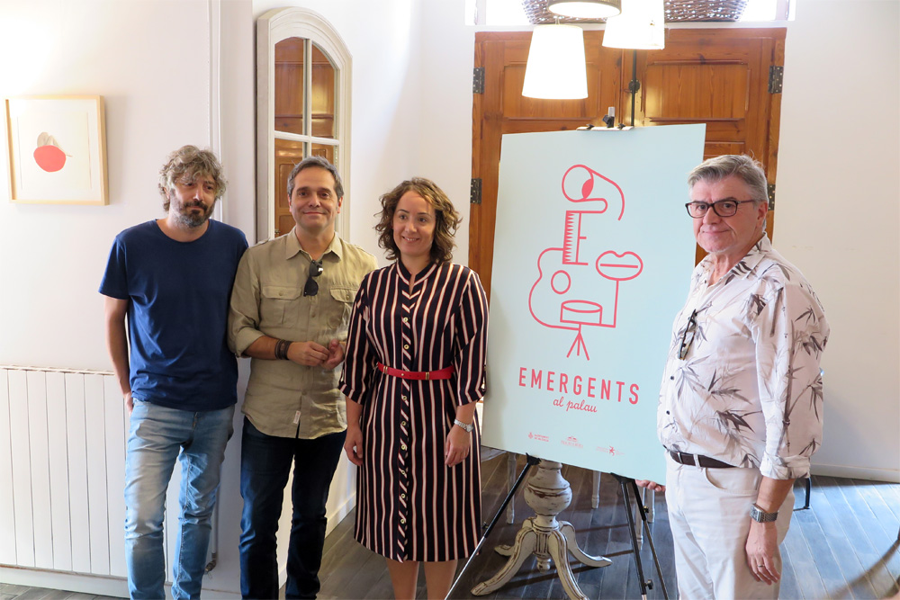 """Presentación del ciclo """"Emergents""""./ (Paco Valiente)"""