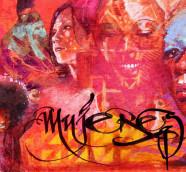 El grafista granadino El Niño de las Pinturas ilustra la carpeta de la nueva antología Republicafrobeat