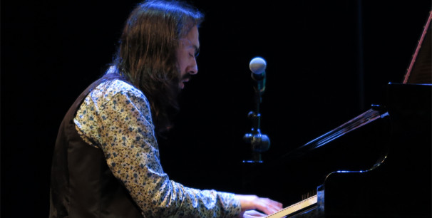 El pianista sevillano Chiqui Cienfuegos en JazzEñe 2016, en Valencia./ (Paco Valiente)
