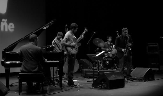 Ernesto Aurignac Quintet en Jazz Eñe 2016,  Teatro Rialto de Valencia./ (Paco Valiente)