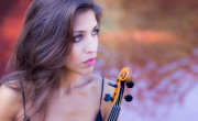 La violinista Leticia Moreno./ (Omar Ayyashi)
