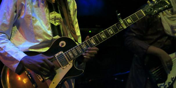 La guitarra eléctrica es uno de los instrumentos más populares de la música./ (Paco Valiente)