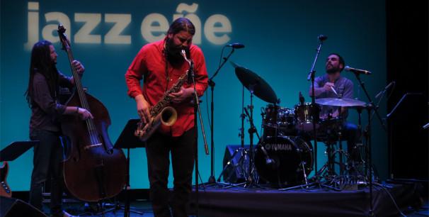 El saxofonista Javier Vercher en III JazzEñe, 1 de octubre 2016, Valencia./ (Paco Valiente)