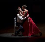 Esmeralda Manzanas y José Huertas, 'Carmen' de Antonio Gades en Les Ars./ (M. Ponce-M. Lorenzo)