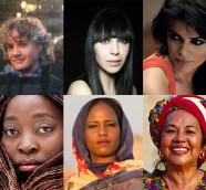 Mujeres en las músicas del mundo, especial con sus voces y saludos al programa
