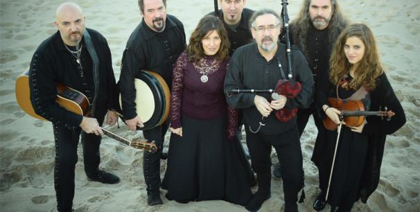 Bieito Romero es el líder y fundador del grupo gallego Luar Na Lubre desde 1986
